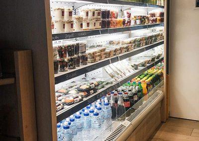 Installation armoires réfrigérées par Fmi
