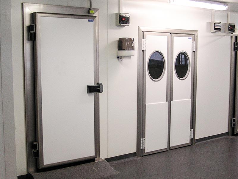 Nos installations de chambres froides