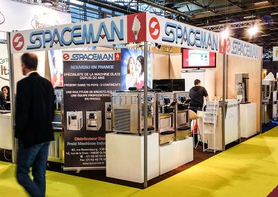 Machines à glaces Spaceman distribuées par Fmi